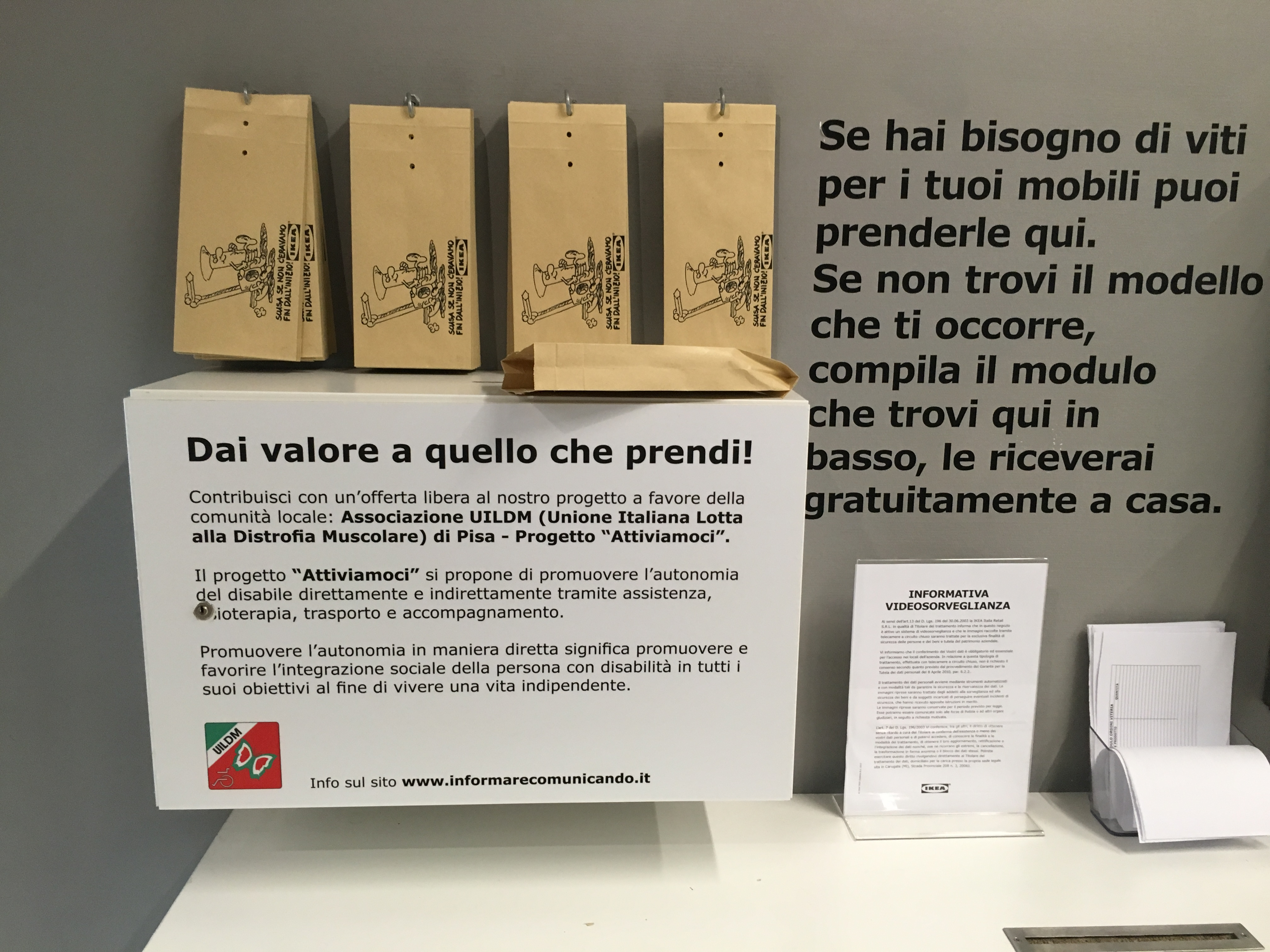 Informarecomunicando Ikea Con Uildm Per Il Progetto Attiviamoci
